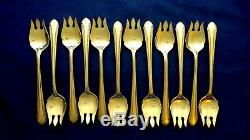 12 Alvin Romanique Sterling Silver Ice Cream Forks All One Bid Will Split Up