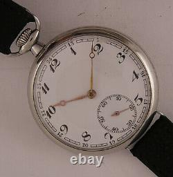 120 Years Old All Original Fully Serviced Cylindre 1900 Swiss Wrist Watch