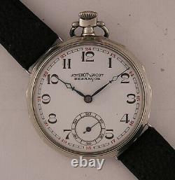 120 Years Old All Original JOYEROT-JACOT BESANCON 1900 French Wrist Watch MINT