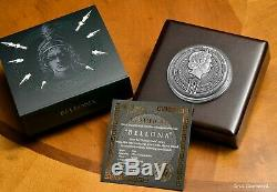 2018 Niue BELLONA 2nd Roman Gods issue- 2 oz 999 Silver antique coin withall OMP
