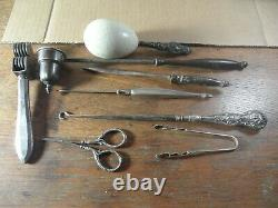 3B-16 Estate vintage sterling silver lot of assorted finds All are marked