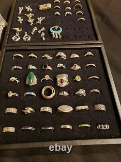 550 Grams Vintage Lot Sterling Silver 925 Jewelry All Wearable 91 Pieces
