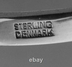 Acorn by Georg Jensen All Sterling Silver Grape Shears, 5 5/8, GI mark No Mono