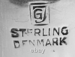 Acorn by Georg Jensen Original GJ mark All Sterling Silver Letter Opener, 8
