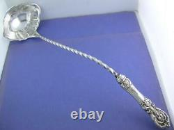 All Sterling REED & BARTON 15 Punch Ladle FRANCIS I no mono