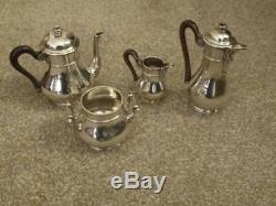 Andre Aucoc French Antique Coffee /tea Set All Stamped Numbered Estate Cleared