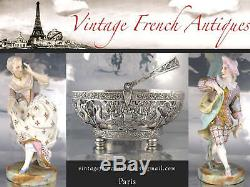 Antique French All Sterling Silver Cocktail / Hors-duvre Serving Set, Hallmark
