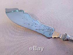 Bird by Wendt All Sterling Master Butter-6 7/8-Mono'd