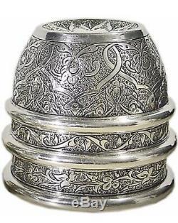 Brett Sherwood Classic All Silver Engraved Chop Cup Magic