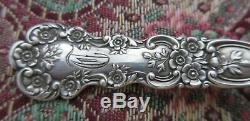 Buttercup Gorham Macaroni Server 8 1/2 All Sterling Old! RARE