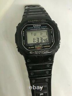 Casio G-shock vintage watch, rare 901 DW-5600, all original