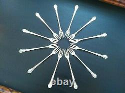 Chantilly All Day! Set of 12 Gorham Seafood/Cocktail Forks NO MONO