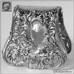 Debain French All Sterling Silver Asparagus Sandwiches Grip Art Nouveau