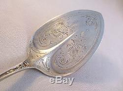 Duchess-Seymour All Sterling Pie/Pastry Server-8 1/2 With Brite Cut Blade-Mono C