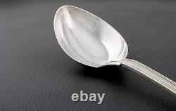 French all sterling silver 950/1000 Large serving Spoon circa 1850