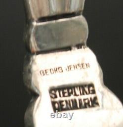 Georg Jensen All Sterling Acorn Cake Server