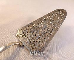 Indonesian All Sterling Figural Pie Server-9 3/4