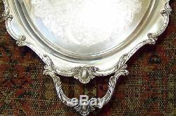 International Silver Rochelle Waiter Coffee Service Tray See All Our Listings