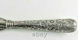 Large Howard & Co All Sterling Silver Shoe Horn