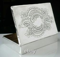 Large Silver Multi Purpose Box (all silver), Walker & Hall c. 1900