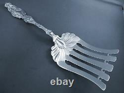 Lily-whiting All Sterling Asparagus Fork-no Mono-10 1/8