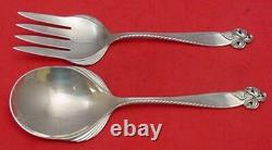 Orchid Elegance by Wallace Sterling Silver Salad Serving Set All-Sterling