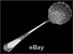 PUIFORCAT Gorgeous French All Sterling Silver Sugar Sifter Spoon Rococo