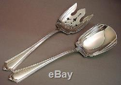 Plymouth-gorham 2pc All Sterling Salad Set