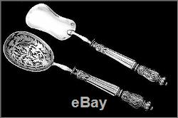 Puiforcat French All Sterling Silver Dessert Hors d'Oeuvre Set 4 pc