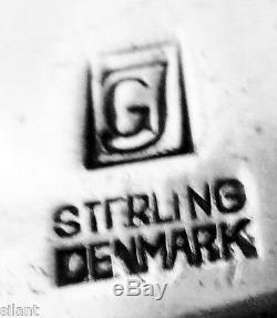 RARE, OLD Georg Jensen ACORN ALL Sterling Silver 9 5/8 PASTRY SERVER, No Mono