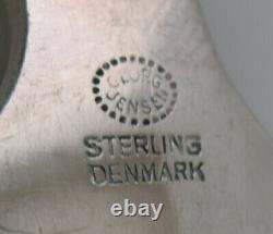 Rare Georg Jensen Pyramid marrowithstilton scoop in all silver