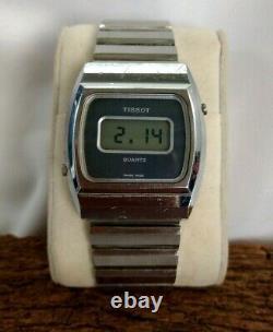 Rare Tissot&Fils DIGITAL WATCH 95019 Swiss ALL Original vintage 1979 s