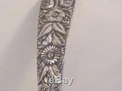 Repousse by Kirk All Sterling Flat Handle Punch Ladle-15
