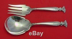 Romance of the Sea by Wallace Salad Serving Set 2-Piece All-Sterling 9 1/4