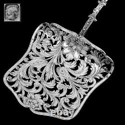 Soufflot French All Sterling SilverAsparagus Pastry Toast Server