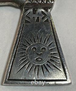Sterling Silver Corkscrew Peru All Silver Barware