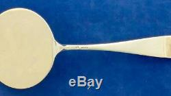 Stieff Rose Sterling All Silver Pancake Server Professionally Buffed And Bagged