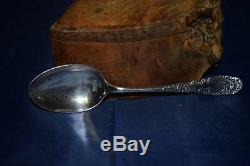 Stunning Job Lot Antique Vintage X5 Silver Spoons All With Hallmarks