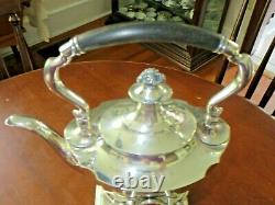 Tiffany & Co. Sterling Tea Kettle And Stand With Burner Circa 1900 All Matching