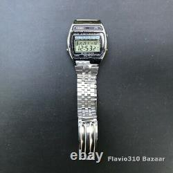 Very Rare 1981 CASIO M-1230 (82) Melody Alarm Japan D 35mm Watch All Working