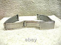 Vintage Accutron Stainless Steel Bracelet, All Original, Near MINT Condition