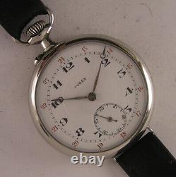 Vintage All Original 120 Years OLD JUDEX 1900 French Wrist Watch MINT Serviced