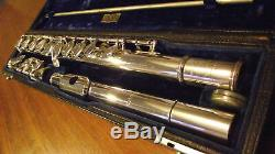 Vintage Antique All Silver Selmer New York Flute from 1920's mint condition