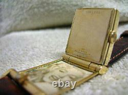 Vintage Bulova, RARE Flip-Top, Photo watch, All original, Serviced, Runs Fine