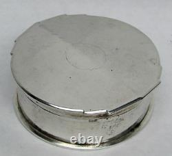 Vintage Chinese Sterling Silver Nanking Export All Silver Power Box