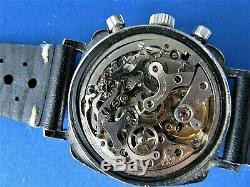 Vintage Heuer Camaro Racing Chronograph Ref 7220 Valjoux 72 All Original WATCH
