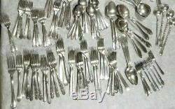 Vintage Mixed Lot of 172+ Flatware All Silverplate ReSale Use Jewelry Making