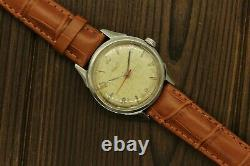 Vintage Rare Collectible USSR Watch POLJOT 17j Export ALL STAINLESS STEEL CCCP