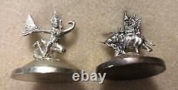 Vintage Sterling Silver Thailand Siam Place Card Holders Set Of 8 All Different