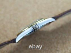 Vintage mens Baume Mercier Baumatic ref. 1185 all steel microrotor movement rare